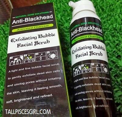 SHILLS Exfoliating Bubble Facial Scrub (RM 49)