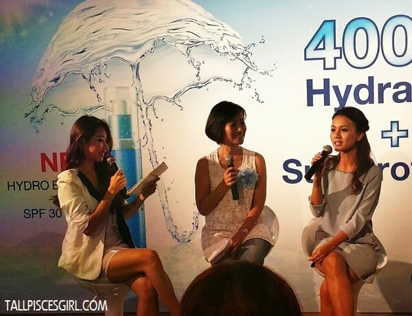 TV presenter, Reem Shahwa is also a big fan of Neutrogena HYDRO BOOST Gel SPF30 PA++
