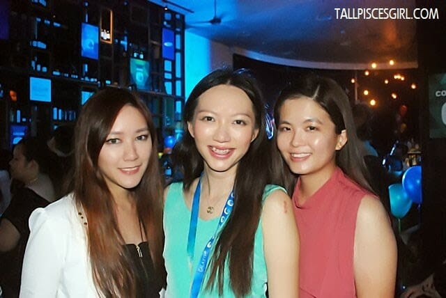 With lovely girls, Joanna Choong and Janice Yeap