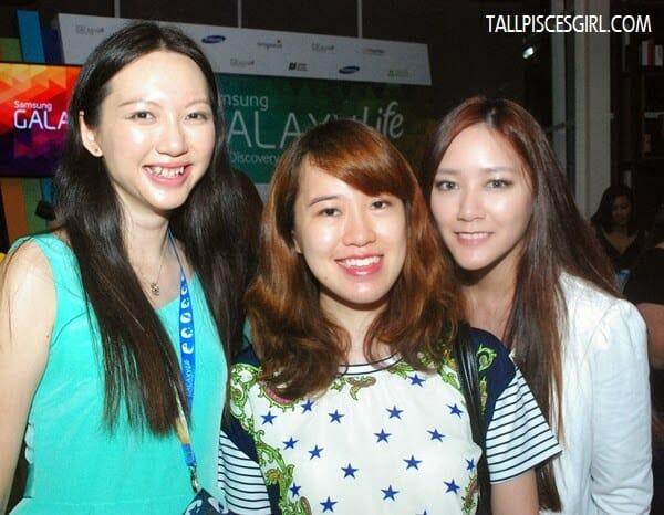 With Li Chuen and Joanna Choong