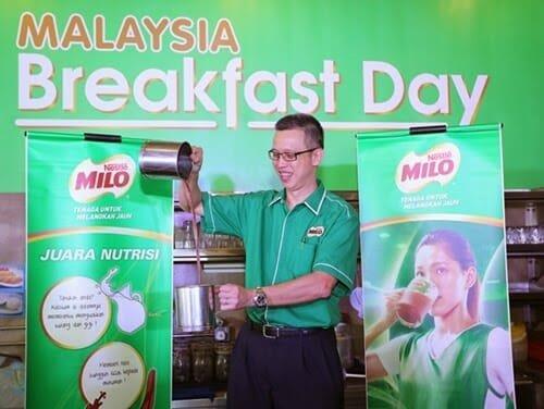MILO 1 | MILO Malaysia Breakfast Day