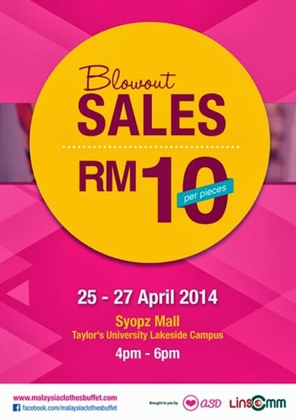 Malaysia Clothes Buffet 2014 1