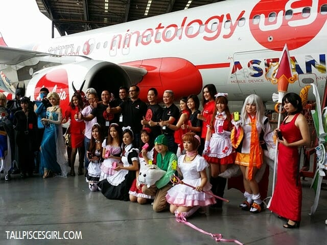 Ninetology and Qualcomm Expands to ASEAN with Aircraft Livery 2