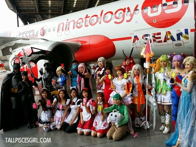 Ninetology and Qualcomm Expands to ASEAN with Aircraft Livery 3