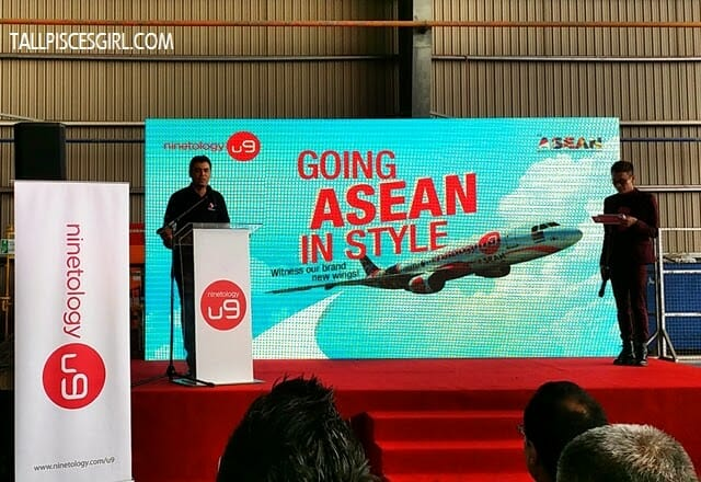 Ninetology and Qualcomm Expands to ASEAN with Aircraft Livery 1