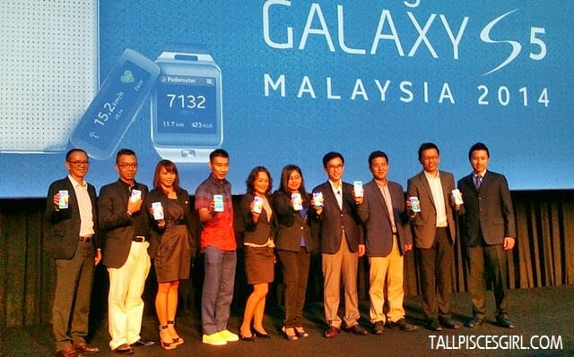 Samsung Galaxy S5 Launch in Malaysia - Did you spot Dato' Lee Chong Wei?