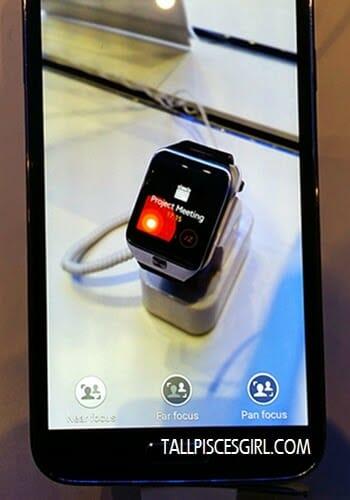 Samsung Galaxy S5 - Selective focus (near focus)