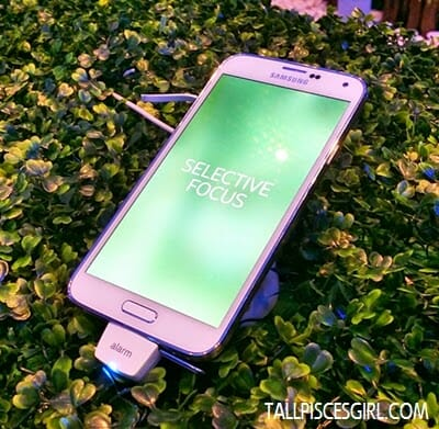 Samsung Galaxy S5 - Selective focus