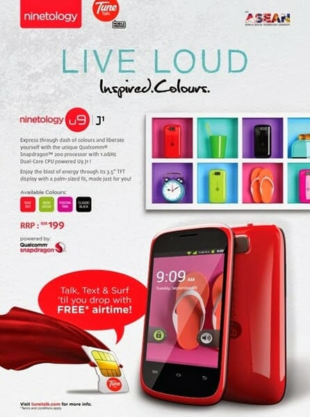 Ninetology U9J1 at only RM 199!