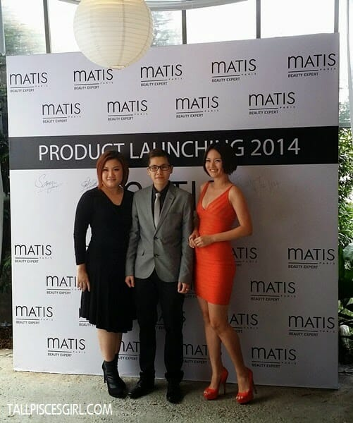 Director of MATIS Malaysia Katherine Yu, Marketing Director Sam Yu and MATIS Malaysia Ambassador Penny 陈滇金