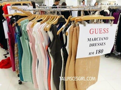 FJ Benjamin Warehouse Clearance Sale - GUESS