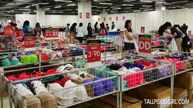 FJ Benjamin Warehouse Clearance Sale - La Senza