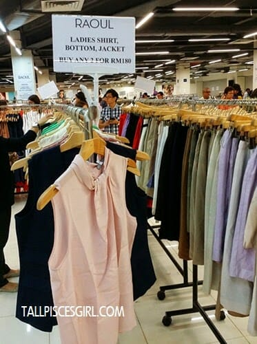 FJ Benjamin Warehouse Clearance Sale