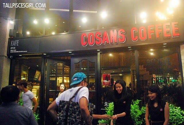 COSANS Coffee @ Solaris Mont Kiara