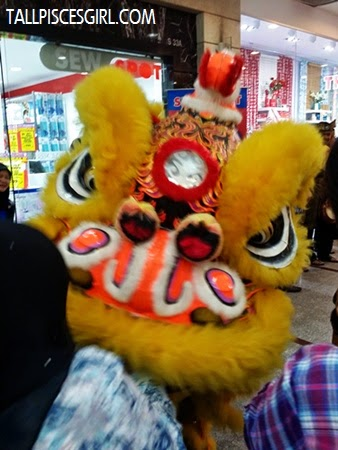 Lion dance @ Spotlight Grand Launch