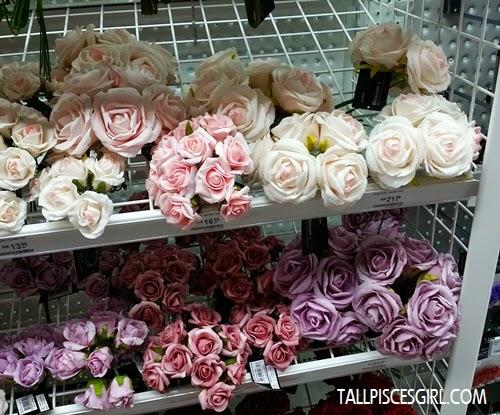 Pretty pretty artificial flowers~~