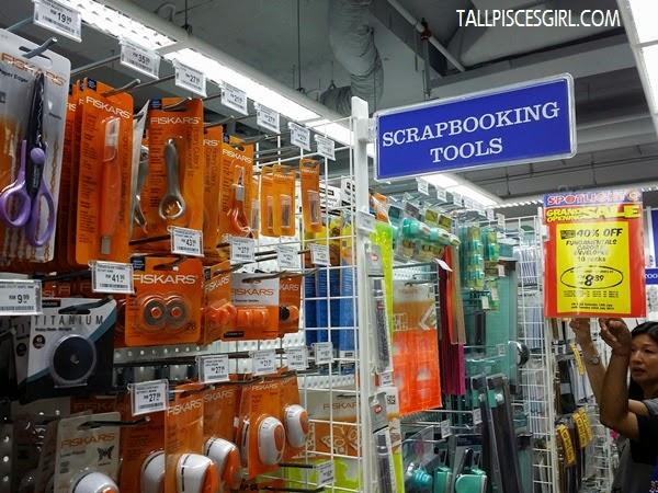 Scrapbooking tools @ Spotlight