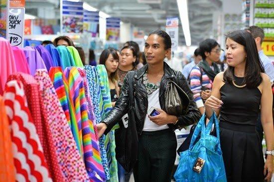 A variety of fabrics available at Spotlight Malaysia