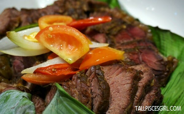 Baked Beef Cooked with Assam Sauce