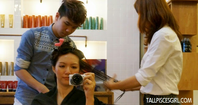 Treating my precious hair with JOICO K-Pak Professional