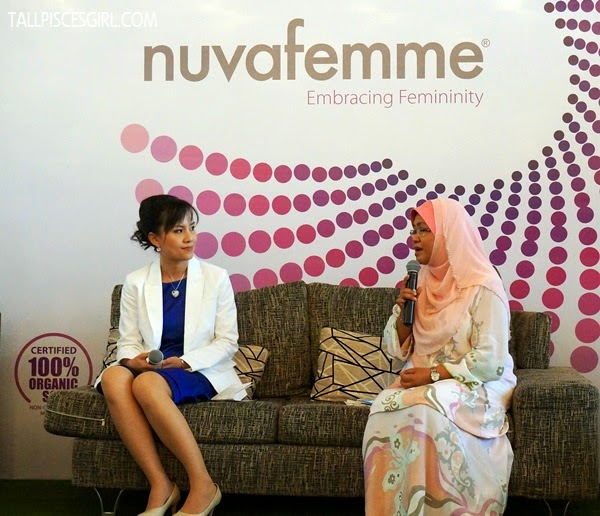 Nuvafemme - Pharmacist, Datin Swanee Teh and Clinical Psychologist, Dr. Hariyati Shahrima Abdul Majid