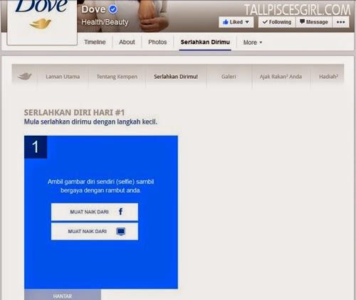 Dove Serlahkan Dirimu Contest: Step 3