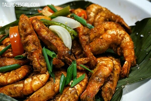 Fried Spices Prawns