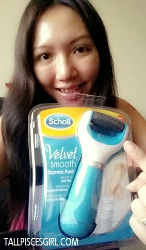 Review: Scholl Velvet Smooth Express Pedi Electronic Foot File 2