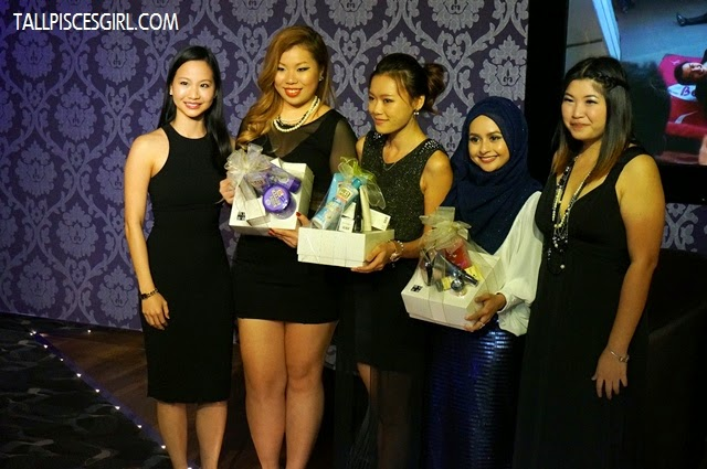 Best dressed girls of the night got to bring some gifts from Muse by Watsons home. Congratulations!