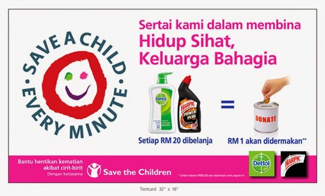Save a Child Every Minute by RB