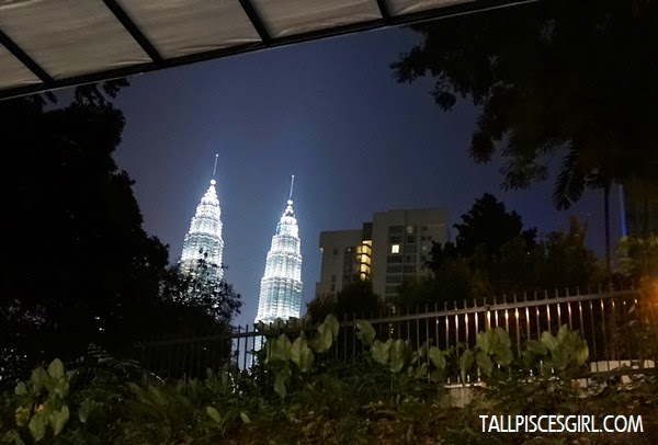A glimpse of KLCC from Soirée