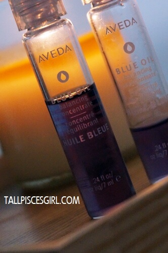Aveda Blue Oil