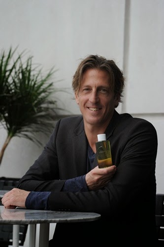 Justin Letschert with Lipidol product