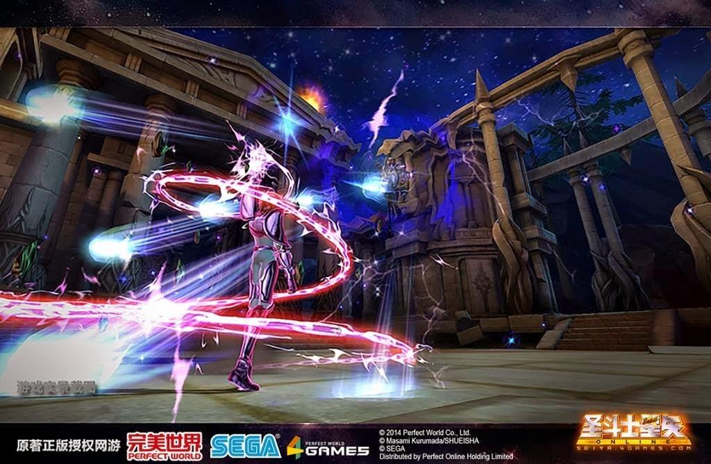 完美世界《圣斗士星矢Online》3D游戏經典重现 2