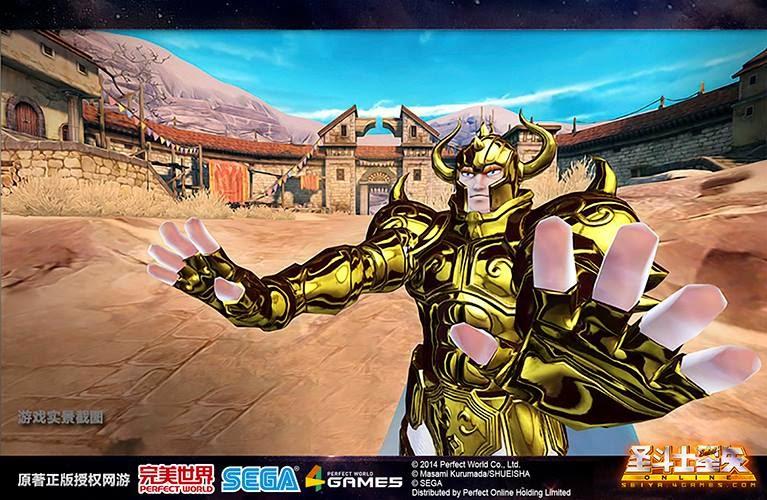 完美世界《圣斗士星矢Online》3D游戏經典重现 6