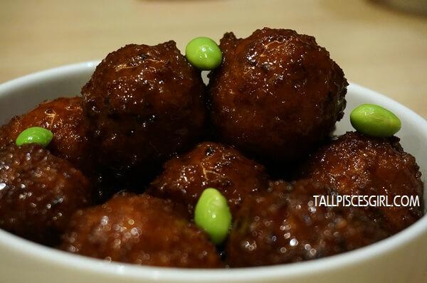 GokuRaku Meatballs // Price: RM 5 (5 pcs) / RM 9 (10 pcs)