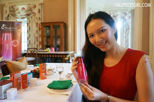 tallpiscesgirl X O'slee Rosehip Beauty Solution Ruby Toner