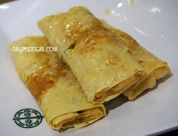 Beancurd Skin Roll with Pork & Shrimp (Price: RM 8.80)