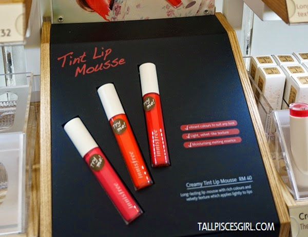 Creamy Tint Lip Mousse Price: RM 40