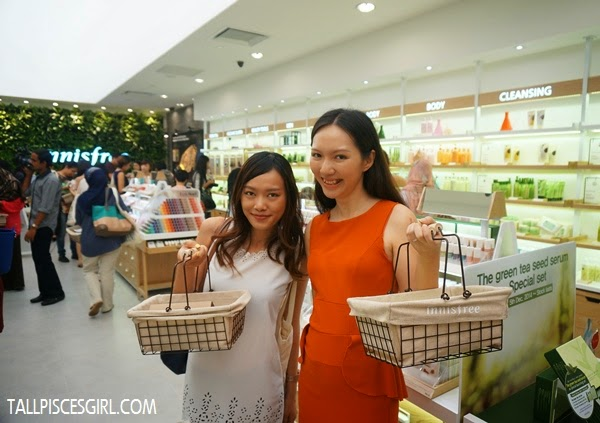 Two shopaholics - Caroline Ng and I