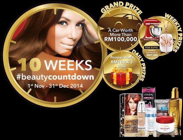 Loreal Contest11 | L'Oreal Paris Beauty Countdown Contest