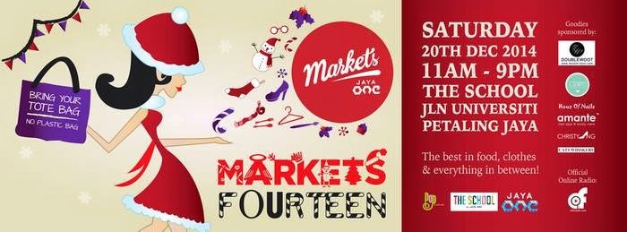 Markets by Jaya One Poster - Markets by Jaya One Is Back, This Christmas!
