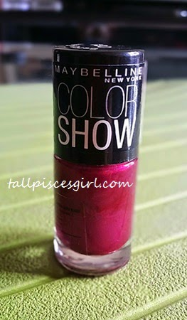 Maybelline Color Show Nail Polish (004 - Berry Sexy)
