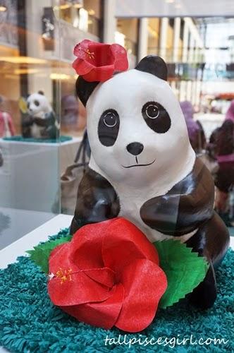 Bunga Raya (Hibiscus) Panda