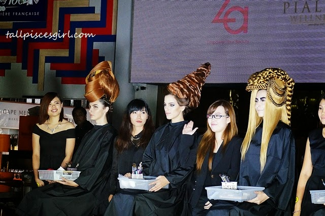 Gelly Wee Makeup Studio Graduation Show + Competition 1