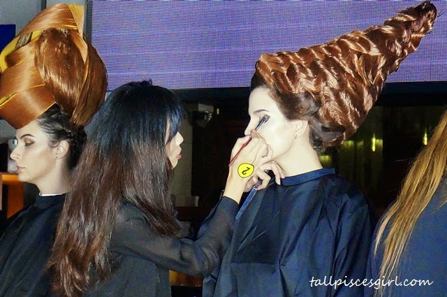 Gelly Wee Makeup Studio Graduation Show + Competition 3