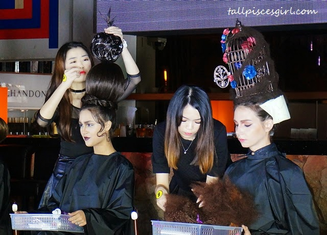 Gelly Wee Makeup Studio Graduation Show + Competition 8
