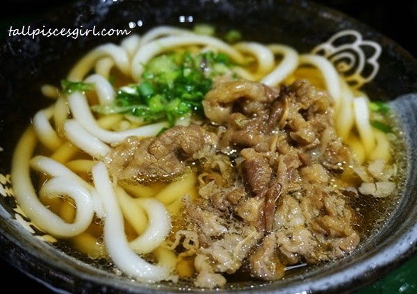 Beef Udon Price: RM 12 (R) / RM 15 (L)