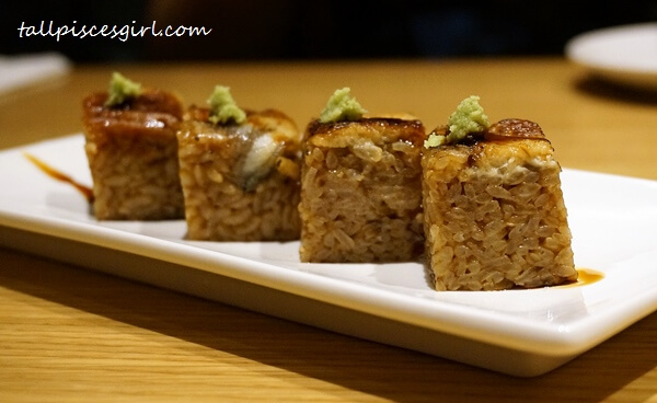 Grilled Eel Roll With Teriyaki Sauce Price: RM 19
