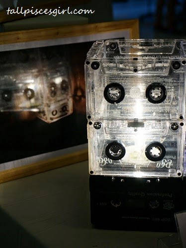 Old Nothing - Cassette Tape Lamp